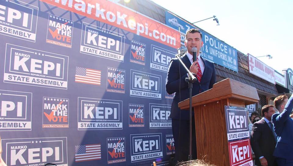 NYS ASSEMBLY CANDIDATE MARKO KEPI LEADS COMPETITORS WITH OVER $125K IN CAMPAIGN CONTRIBUTIONS