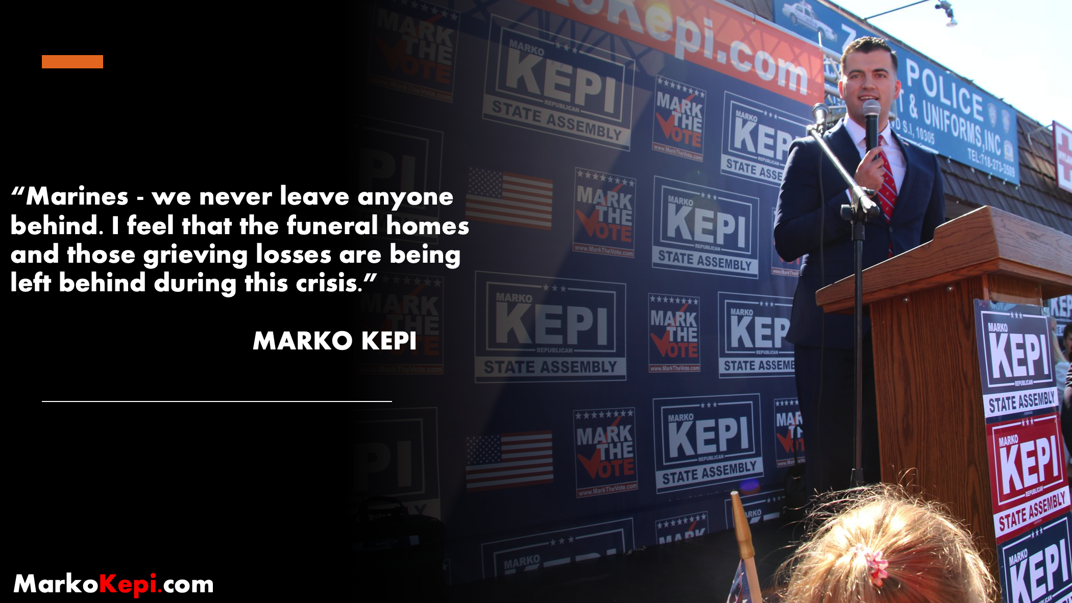 Marko Kepi Republican Candidate for NYS Assembly calls on the National Guard