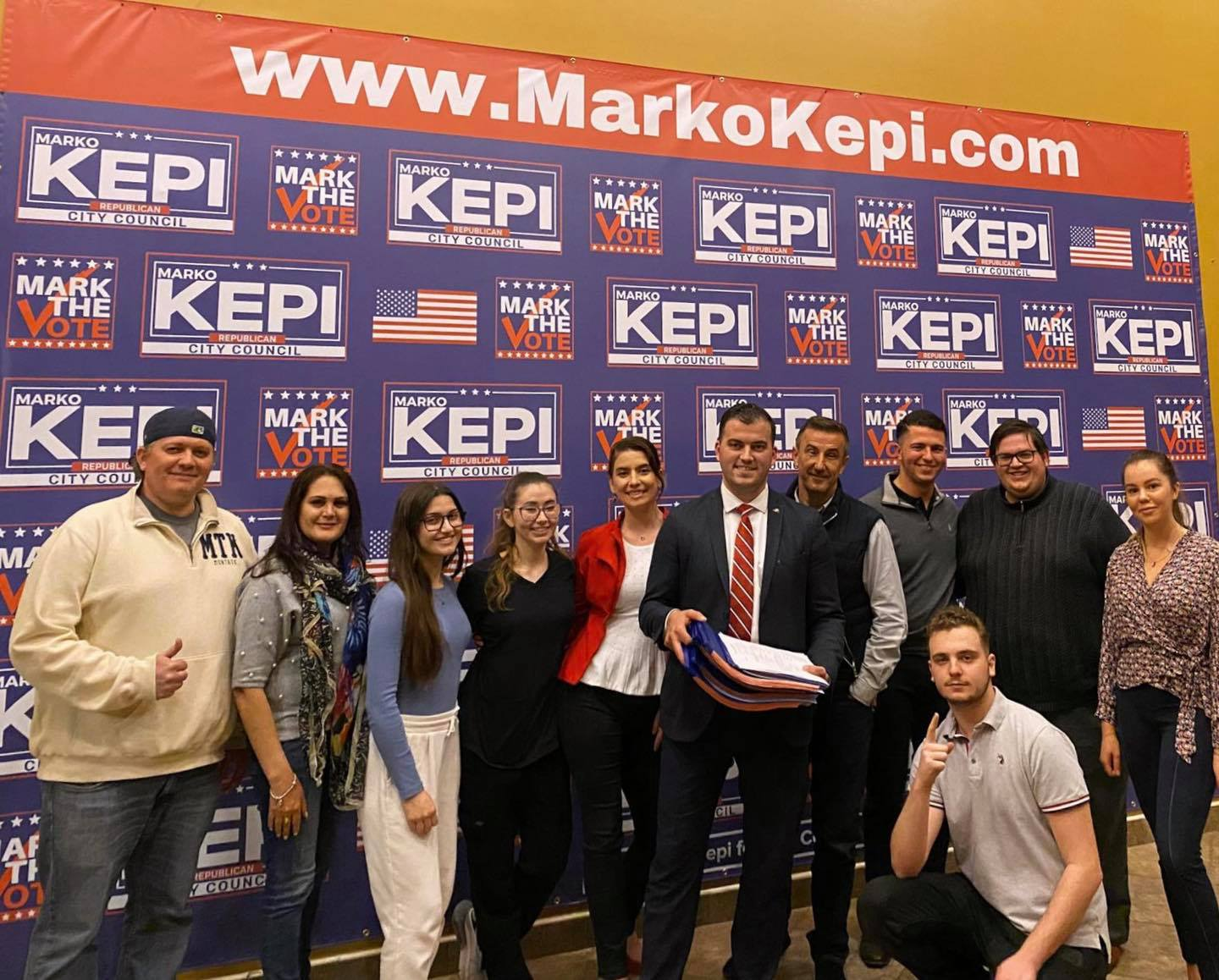 UNITED STATES MARINE MARKO KEPI OFFICIALLY ANNOUNCES CANDIDACY FOR STATEN ISLAND CITY COUNCIL SEAT