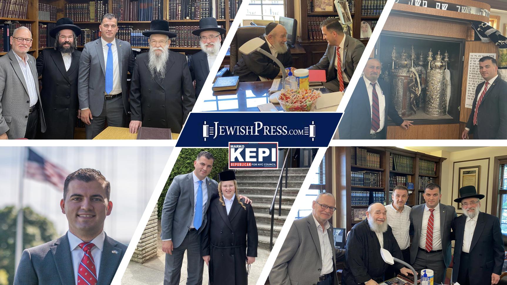 The Jewish Press Endorsements U.S Marine Marko Kepi For City Council